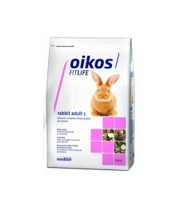 OIKOS RABBIT ADULT 1 KG.1,5