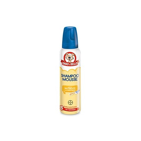 BAYER SHAMPOO MOUSSE PAPPA REALE ML.300