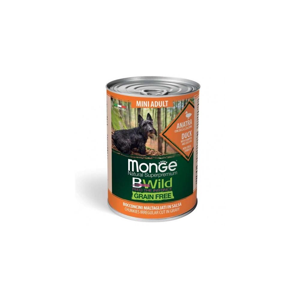 MONGE DOG GRAIN FREE AD MINI ANATRA G400