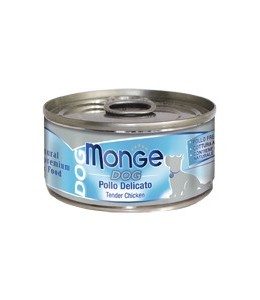 MONGE DOG NATURAL POLLO DELICATO GR.95