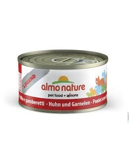 ALMO NATURE CAT POLLO E GAMBERETTI GR.70